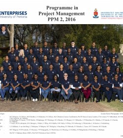 Programme in Project Management 2 - 2016