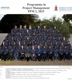 Programme in Project Management 2 - 2015